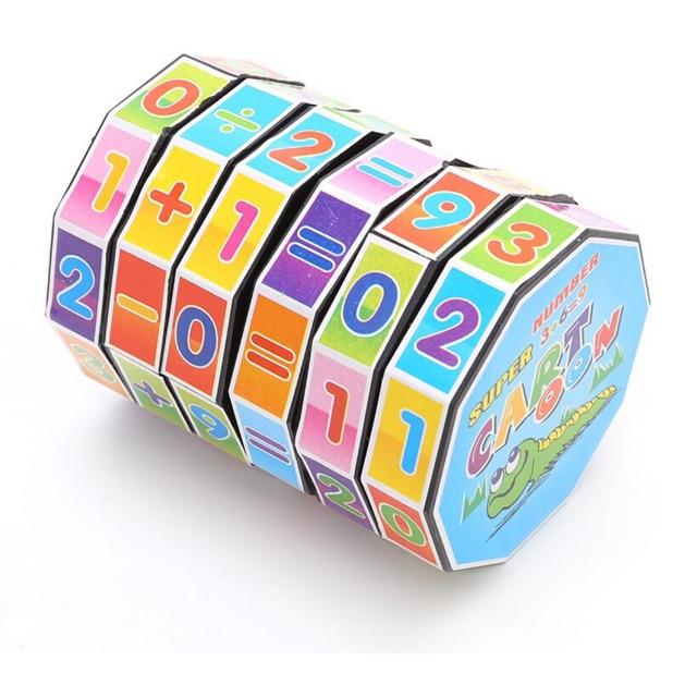 Rubik học toán