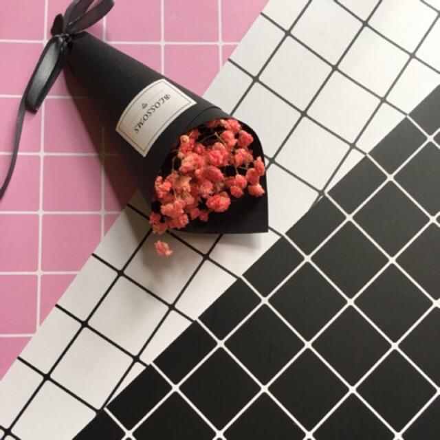 Bộ phông chụp ảnh nền gồm 3 tấm đen, trắng, hồng