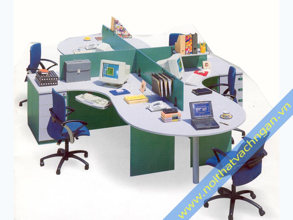 Vách ngăn mặt bàn làm việc VMB02KS