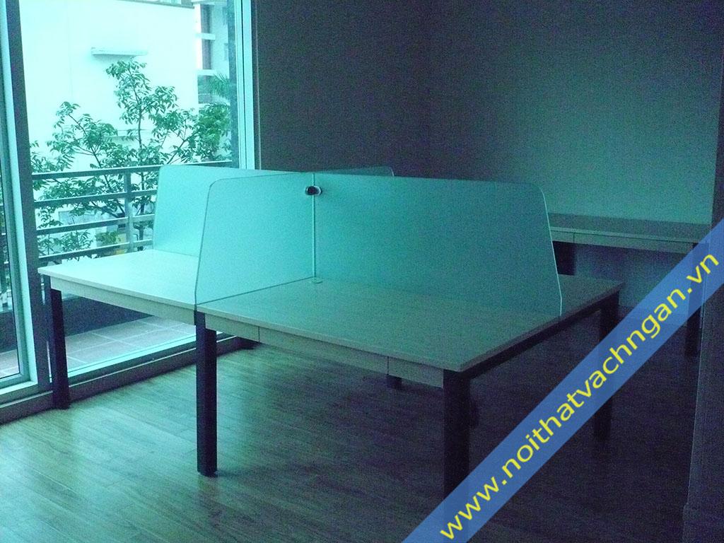 Vách ngăn mặt bàn làm việc VMB01K