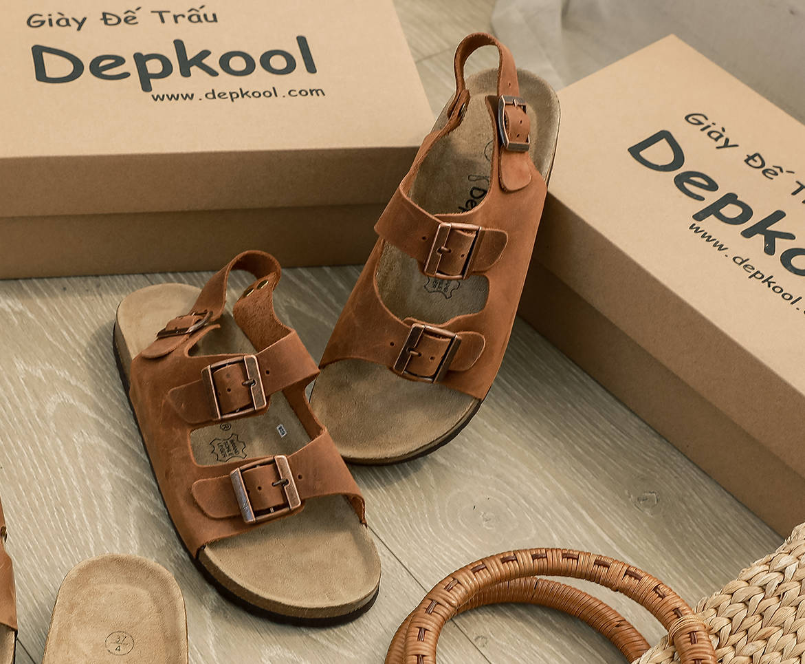 Giày dép đế trấu DepKool