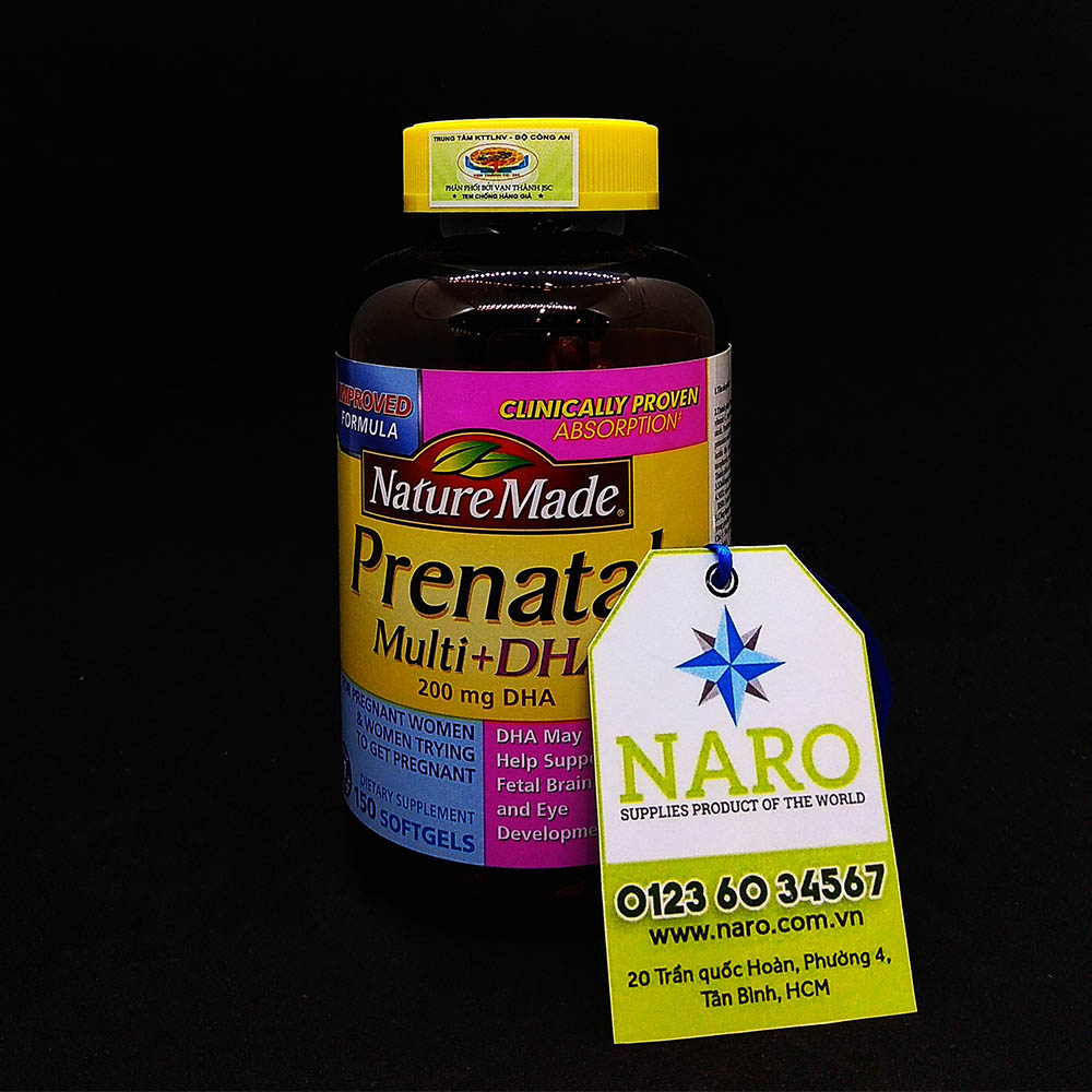 Nature Made Prenatal Multi DHA 200mg