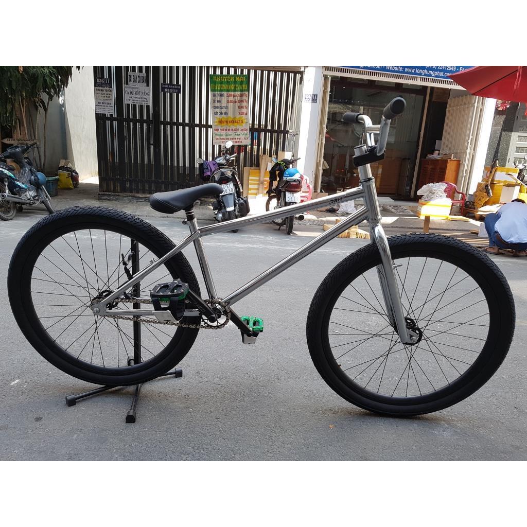 Xe đạp freestyle full DEX G3 - crom