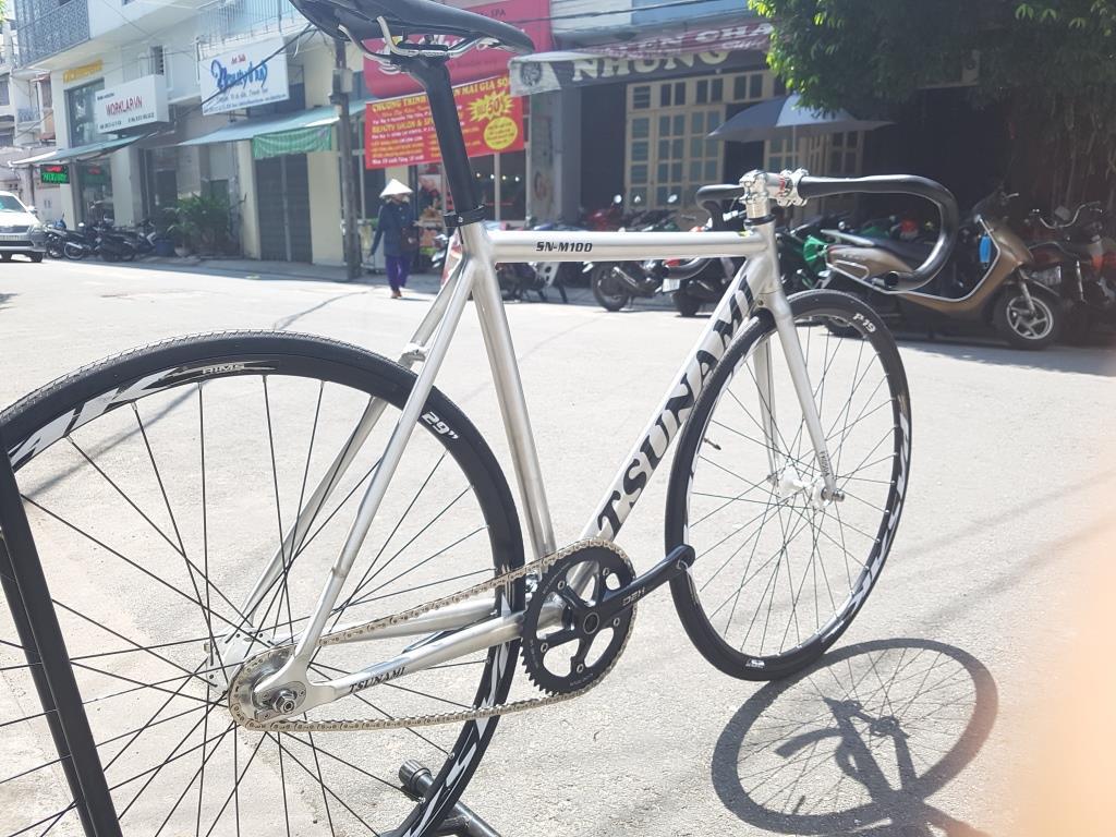 Xe đạp Tsunami Nova Pasak - Sliver