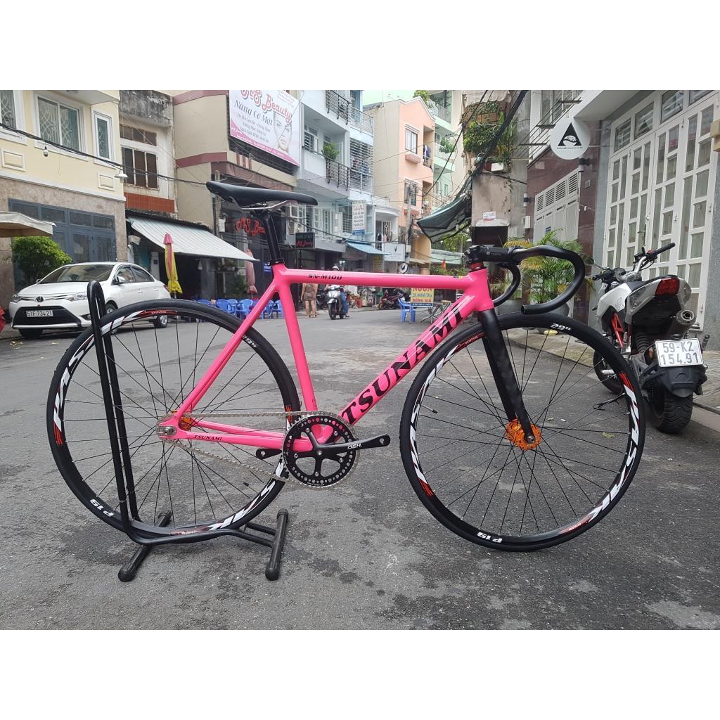 Xe đạp Track Tsunami SN100 - Pink Pasak