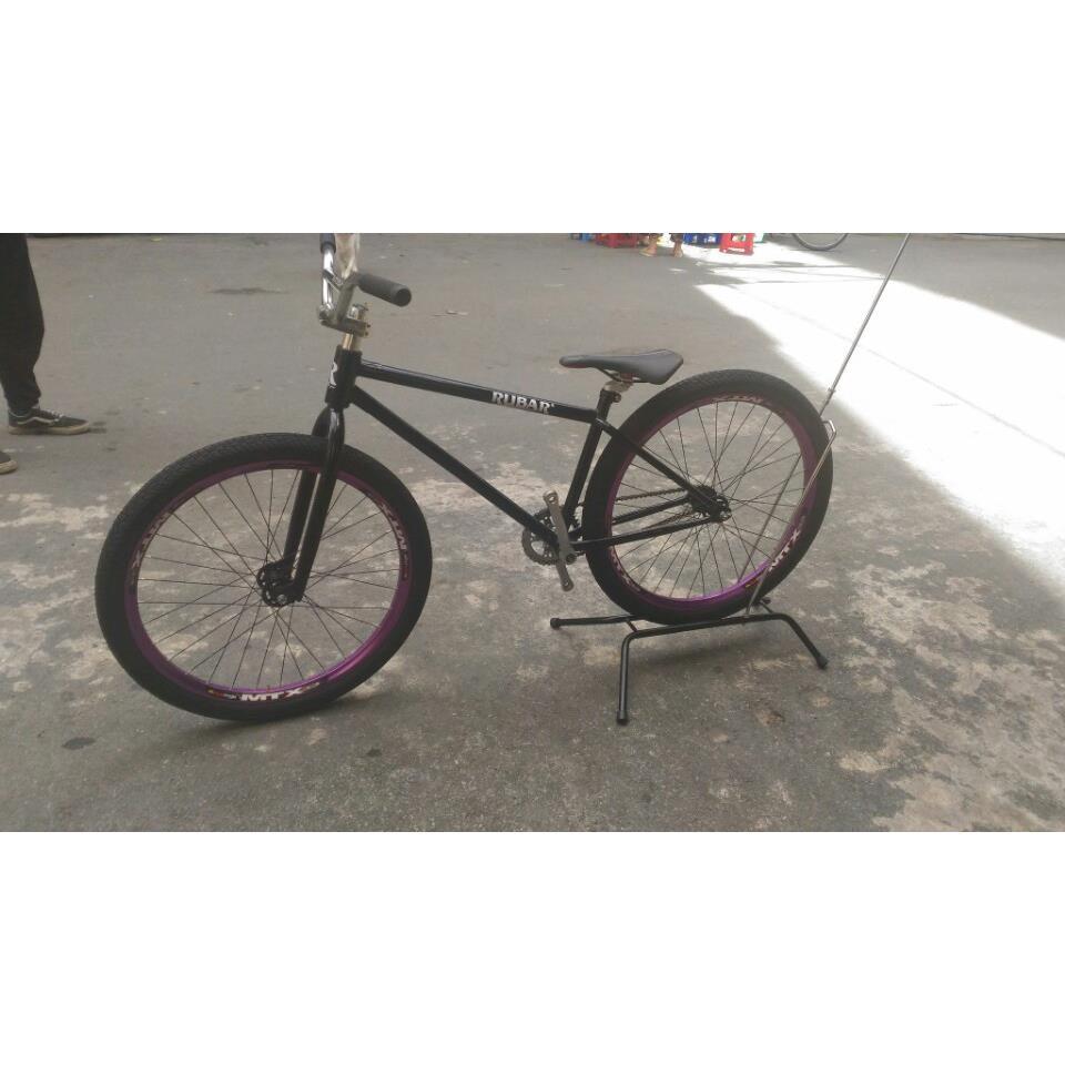 Xe đạp freestyle Rubar Đen Tím