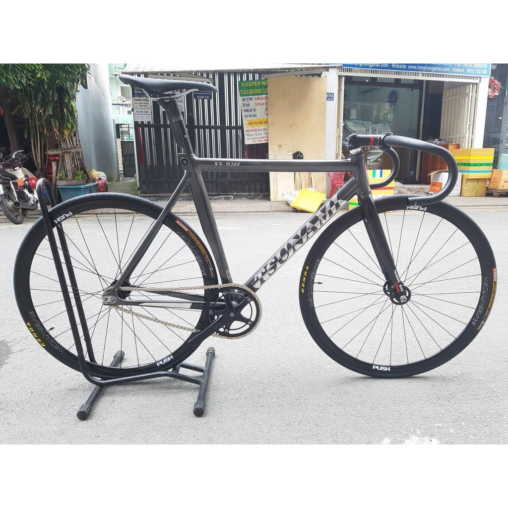Xe đạp Track Tsunami SN300 - Chocolate Aventon