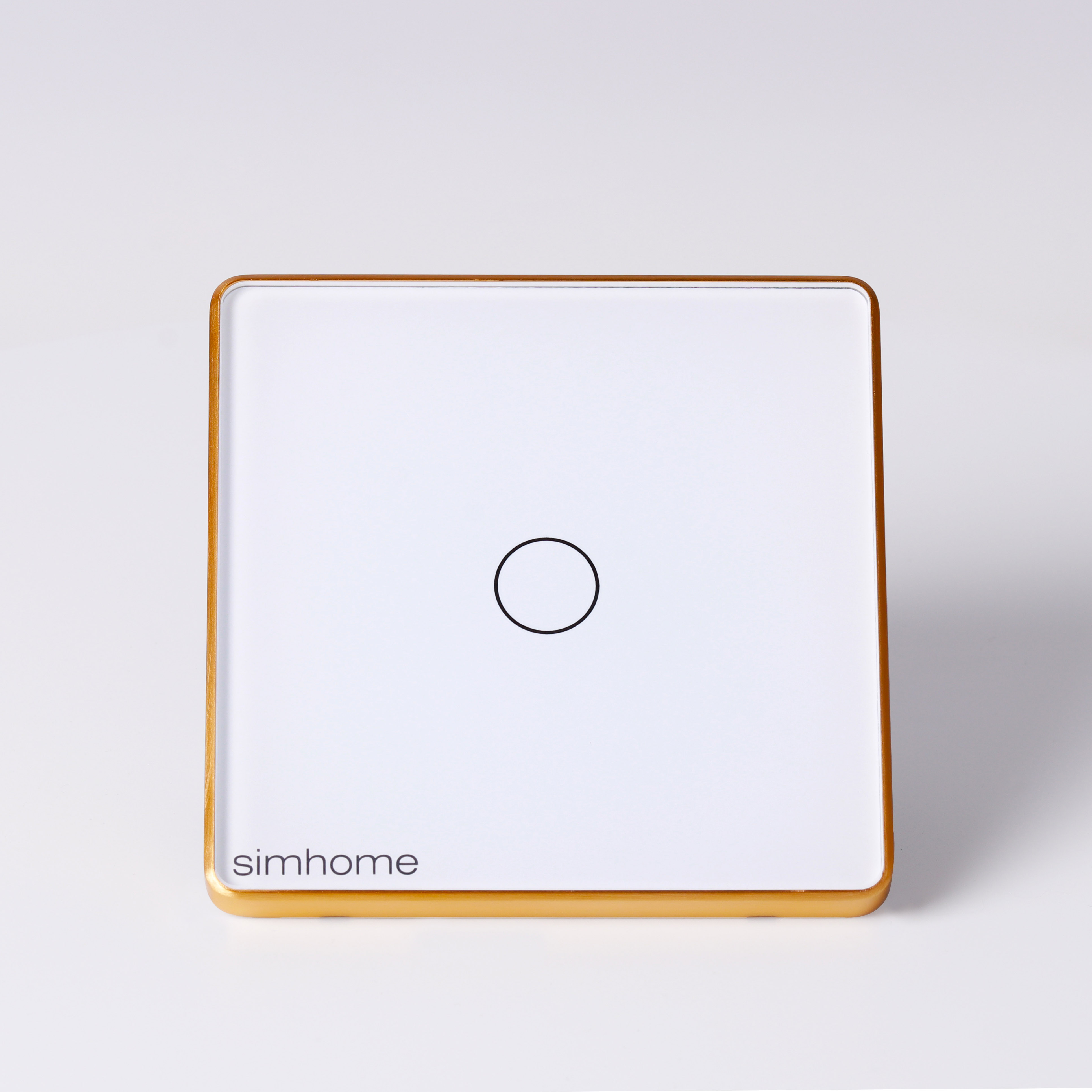 Công tắc Thông minh SimHome S4  Mặt Vuông - Trắng