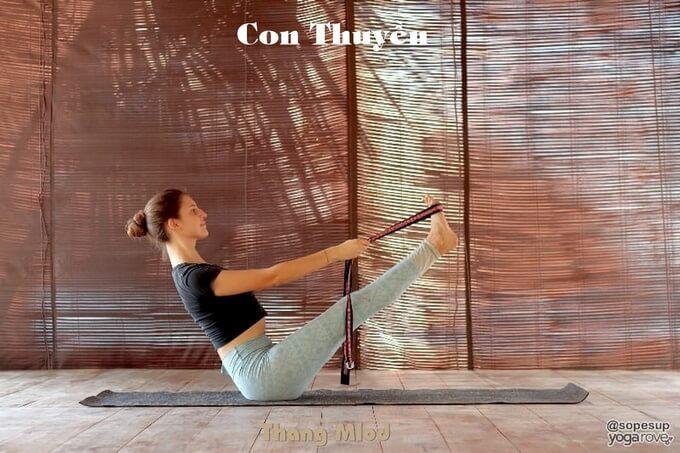 Con Thuyền (Navasana - Boat Pose)