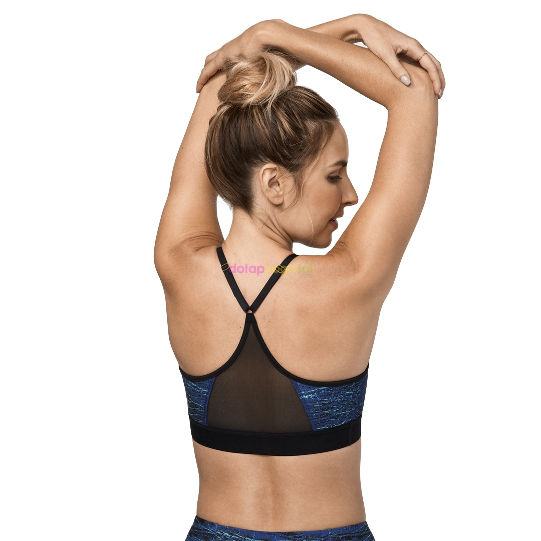 Áo tập yoga Manduka Damana Bra - Viper Print