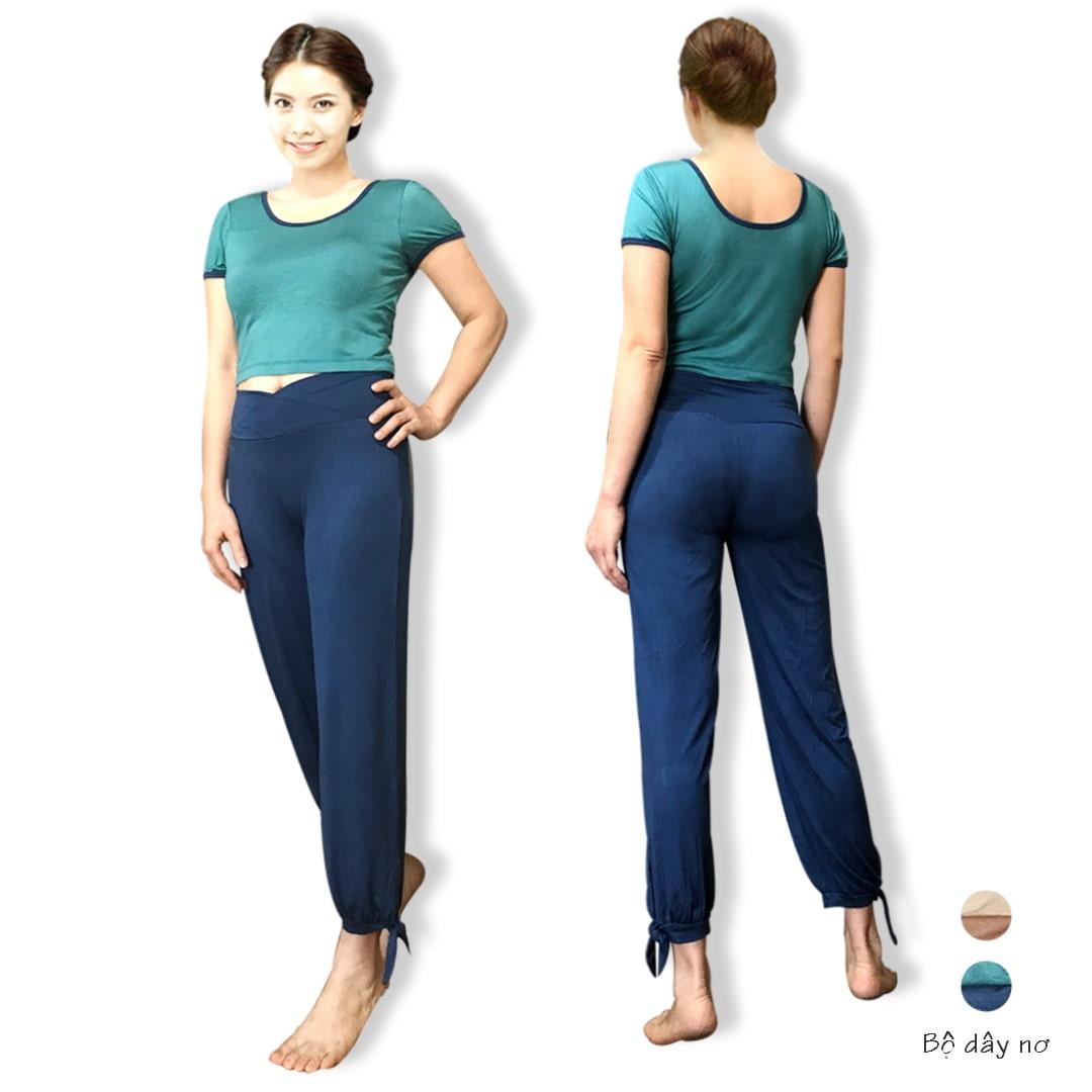Bộ tập yoga Nơ gấu Lynk`s Clothes