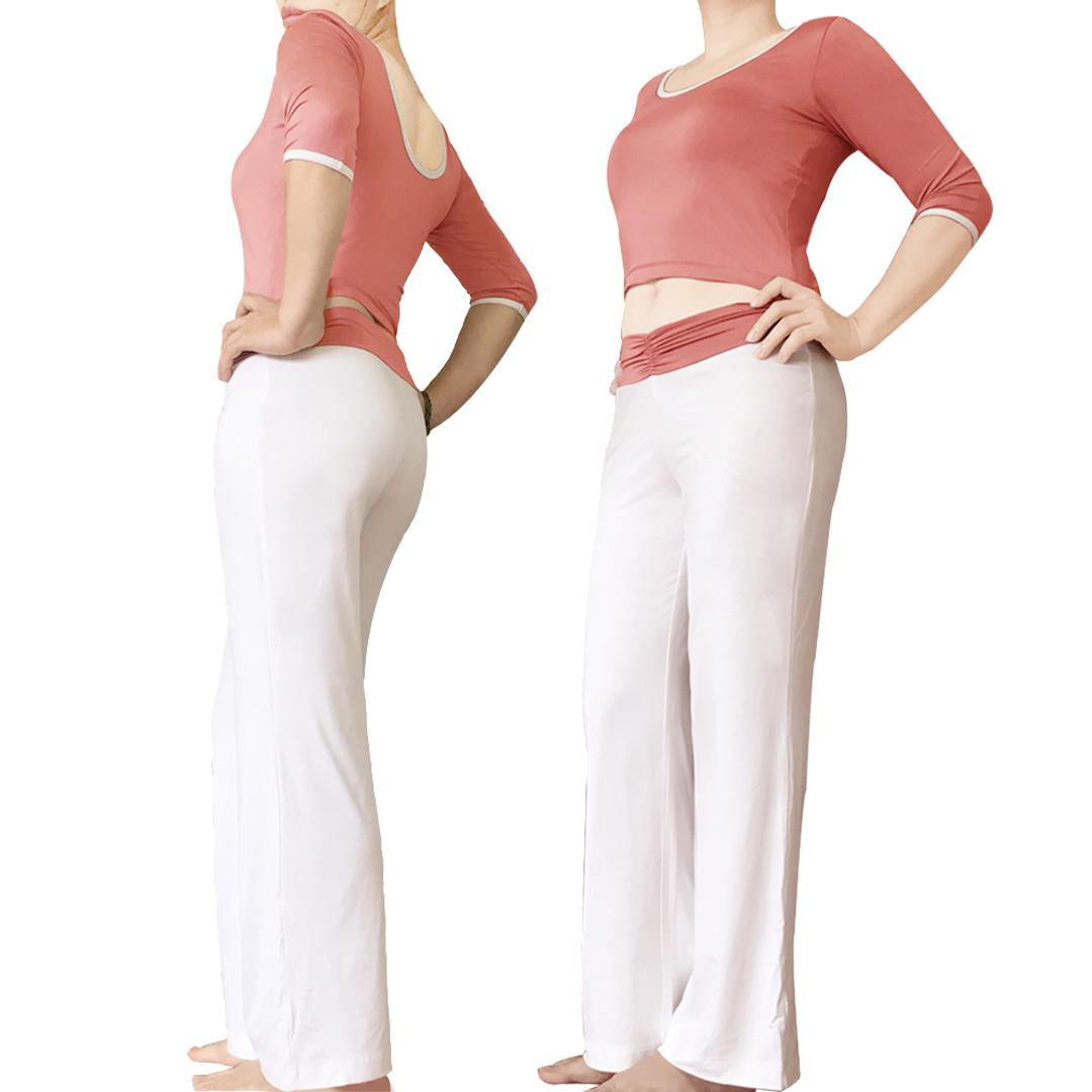 Bộ quần áo yoga tay lỡ nữ Lynk`s Clothes