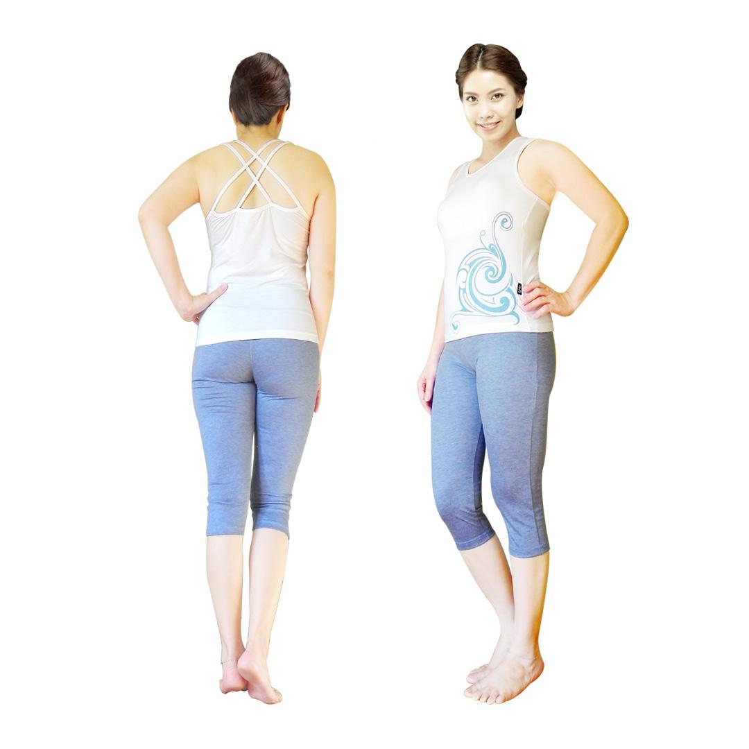 Bộ quần áo tập yoga Ba lỗ dây đan Lynk`s Clothes