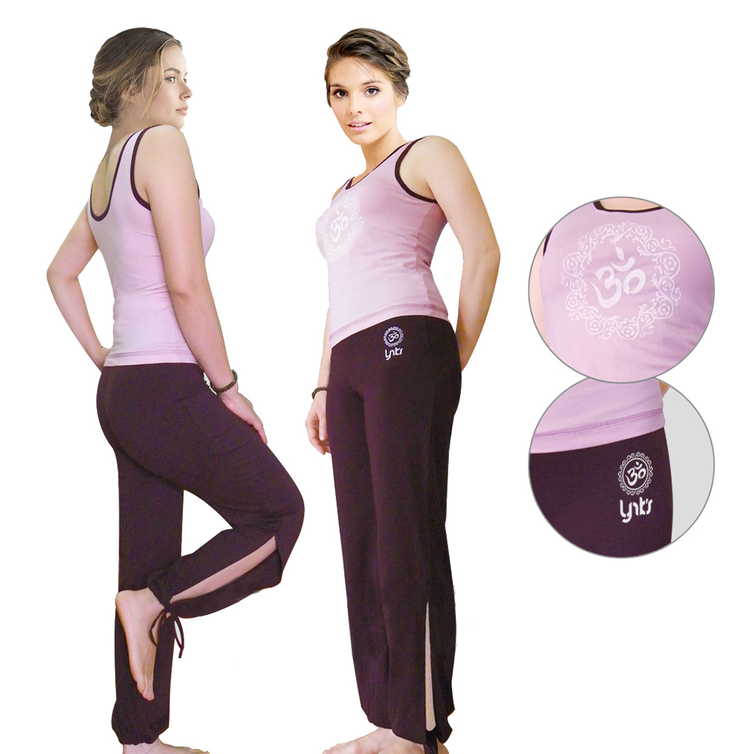 Bộ tập yoga ba lỗ dây rút Lynk`s Clothes