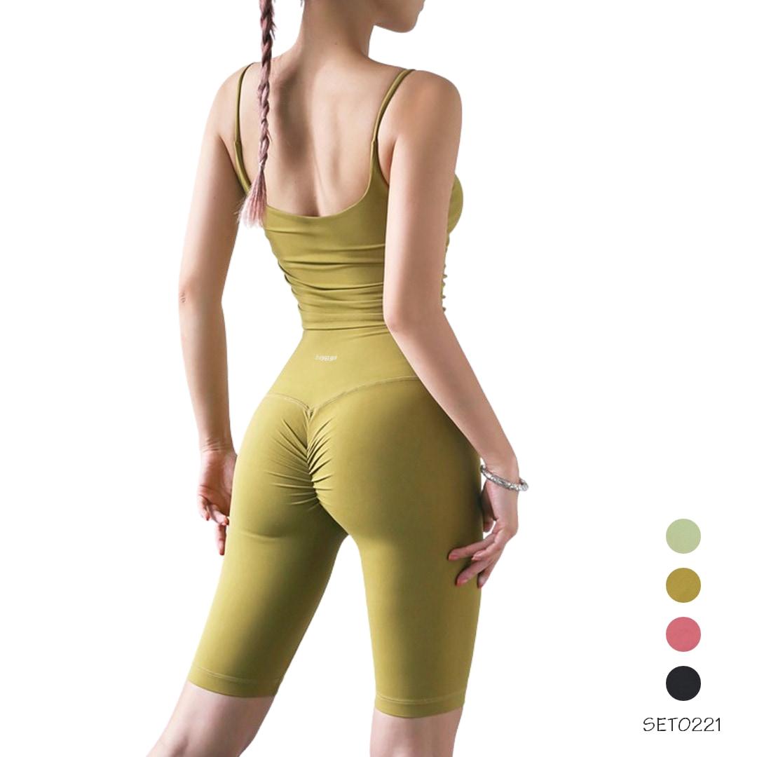 Bộ tập yoga lửng SET0221 beYoga