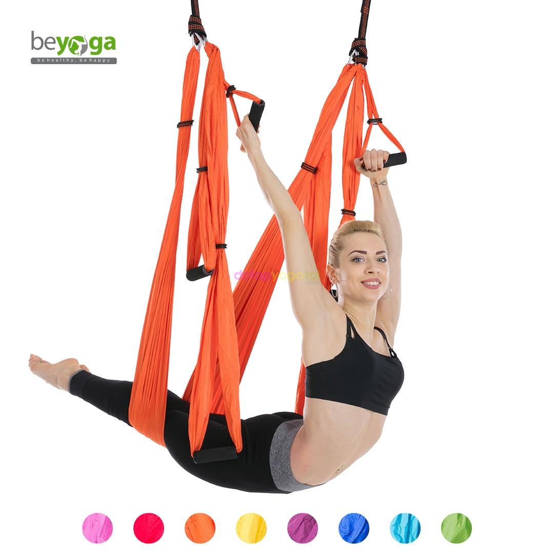 Bộ võng yoga vải dù siêu bền beYoga