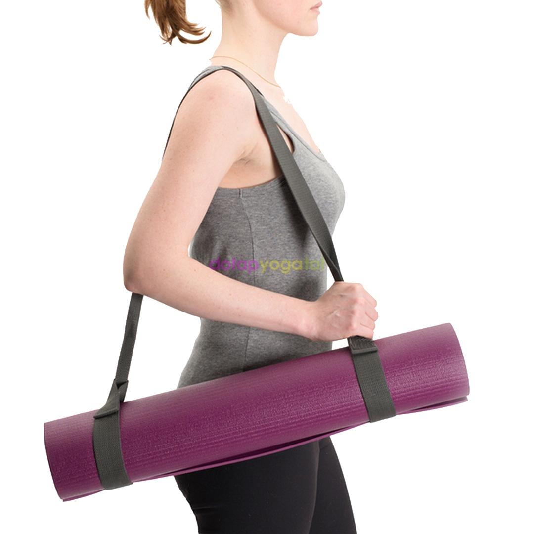 Dây đeo thảm yoga sợi bông pha lanh