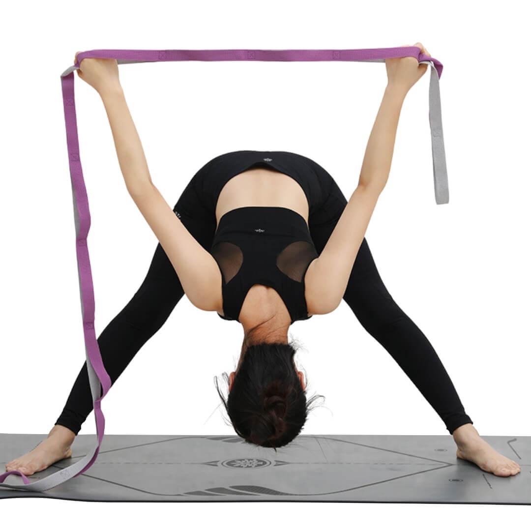 Dây tập yoga 10 đoạn dài 2m