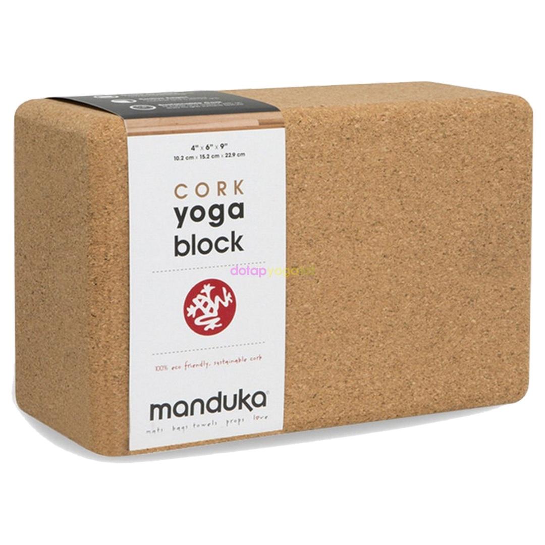 Gạch yoga Manduka gỗ bần cao cấp