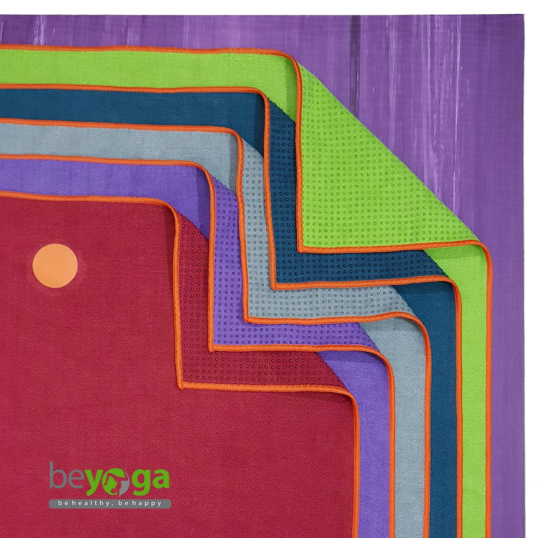 Khăn trải thảm yoga siêu sợi Microfiber beYoga