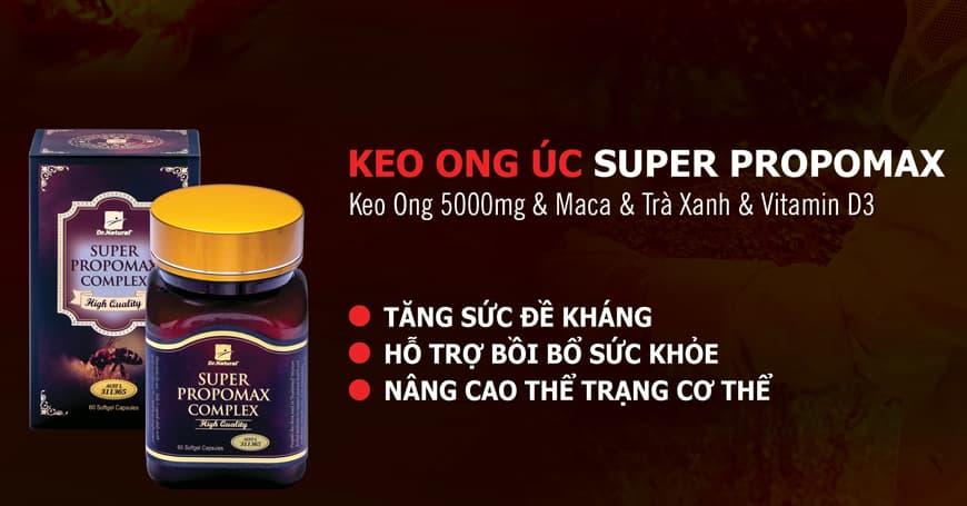 Lợi ích của Keo Ong giúp tăng hệ miễn dịch