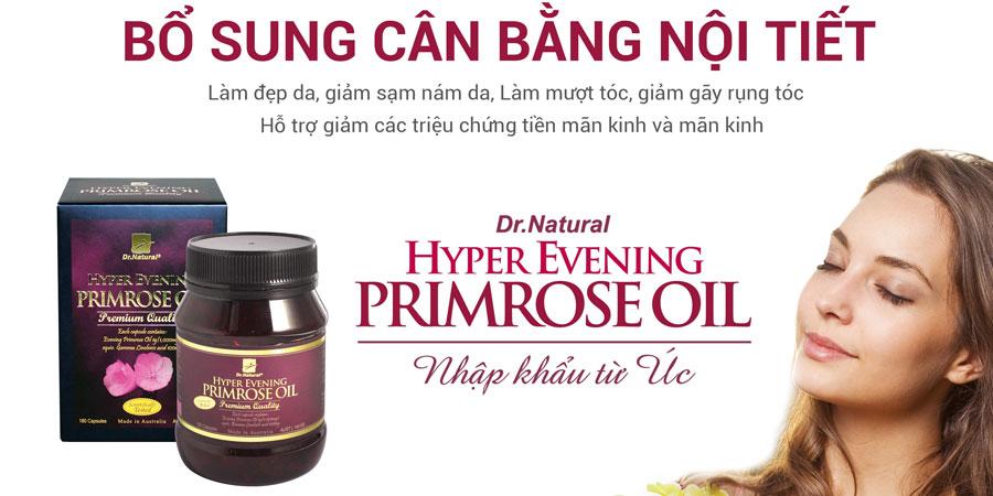 Bổ sung nội tiết tố nữ Hyper Evening Primrose Oil