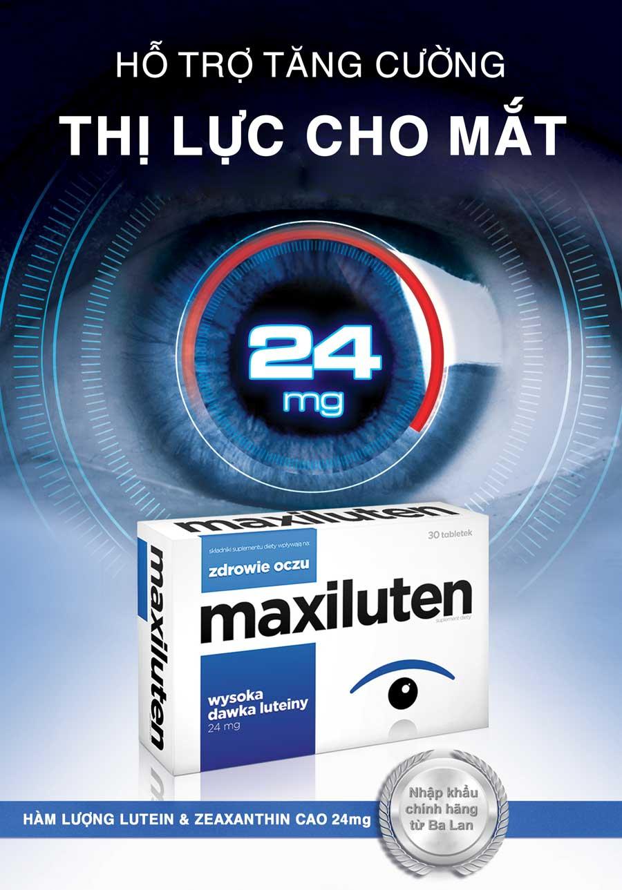 Viên bổ mắt Maxiluten