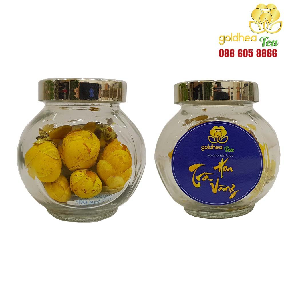 Trà hoa vàng Goldhea tea cao cấp lọ 10g