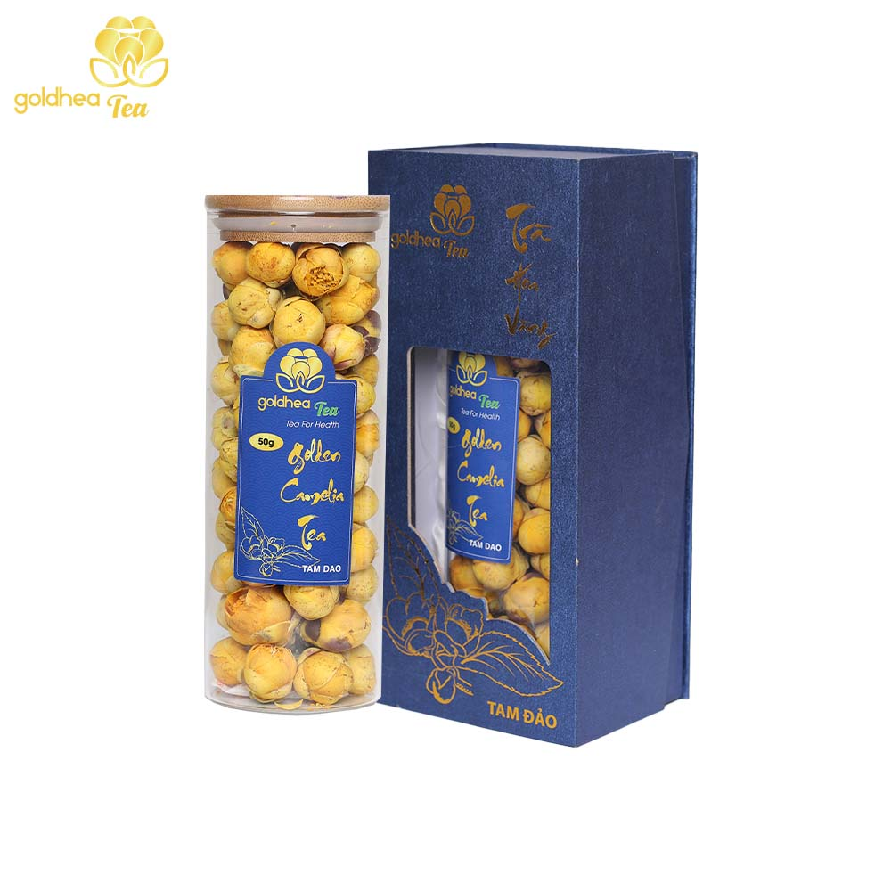 Trà hoa vàng Goldhea Tea hộp 50gr