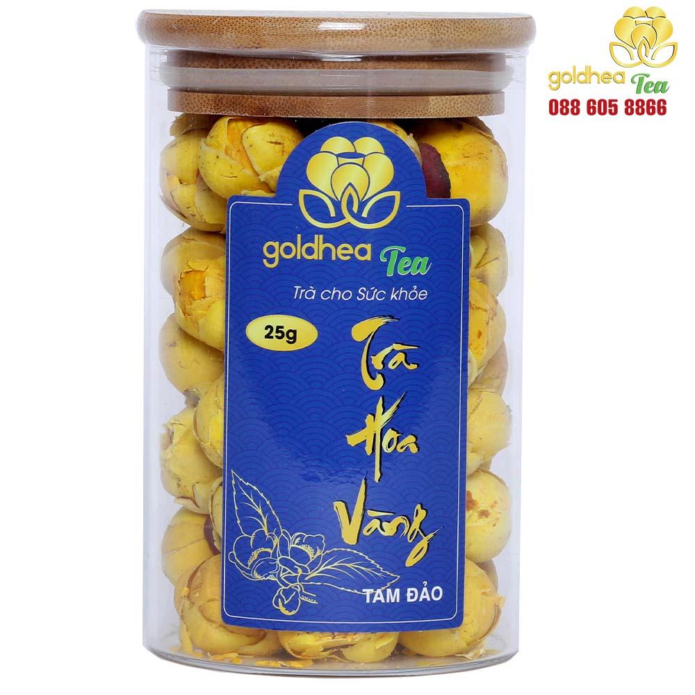 Trà hoa vàng Goldhea Tea hộp 25gr