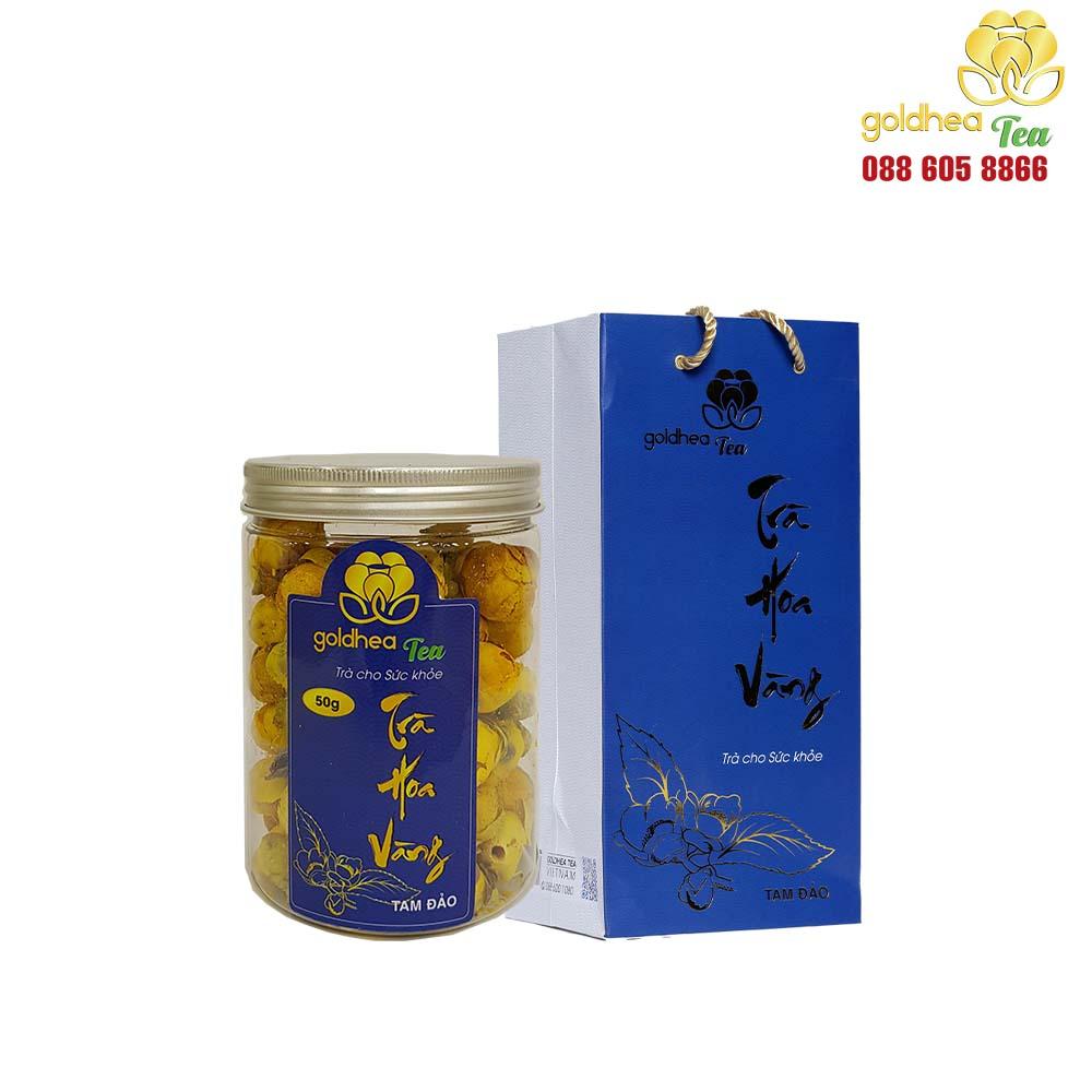 Trà hoa vàng Goldhea Tea lọ 50gr