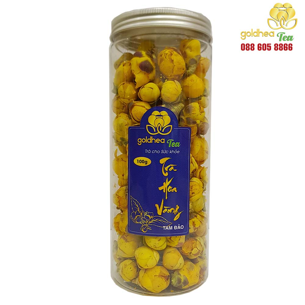 Trà hoa vàng Goldhea Tea lọ 100gr