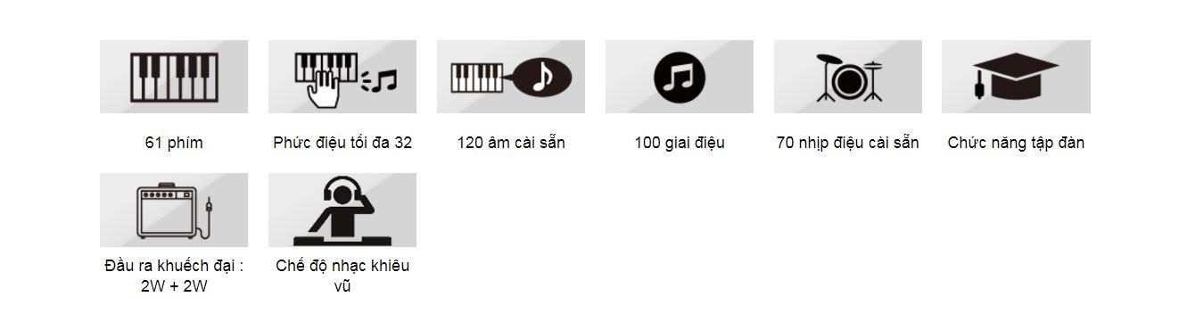 Đàn Organ Casio CTK-1500/1550 Mới - ảnh 1