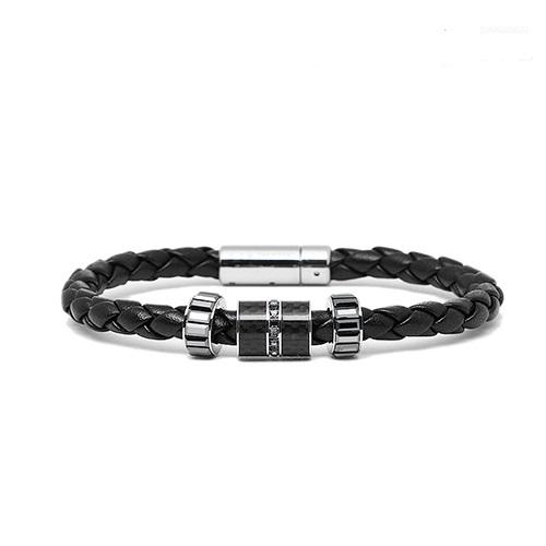 vong-tay-da-pha-le-day-da-swarovski-diagonal-bracelet-leather