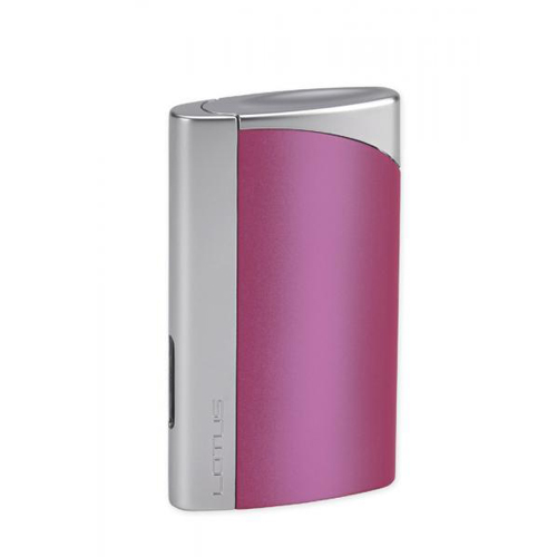 hop-quet-lotus-l43-magenta-chrome-velour-torch-flame-cigar-cigarrette-lighter