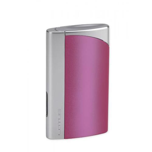 hop-quet-lotus-l43-magenta-chrome-velour-torch-flame-cigar-cigarrette-lighter
