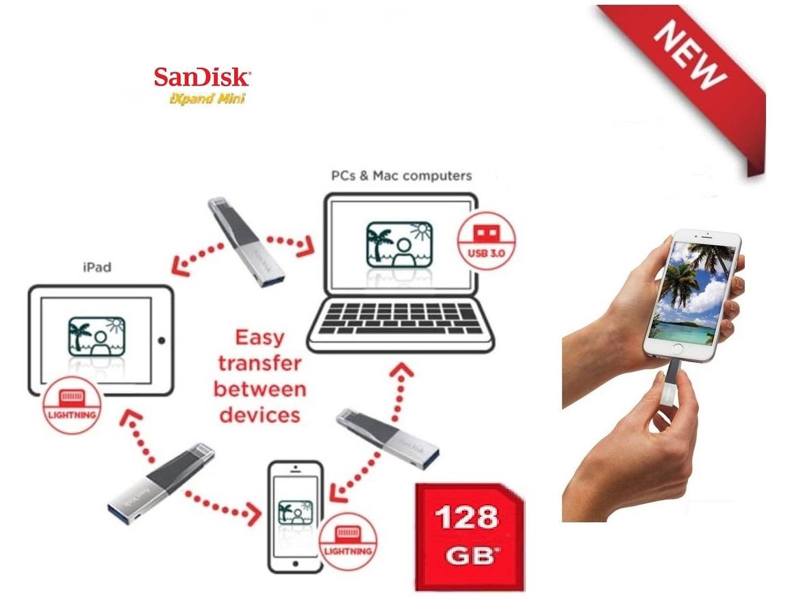 usb-ho-tro-cho-iphone-sandisk-128gb-usb-3-0-ixpand-mini