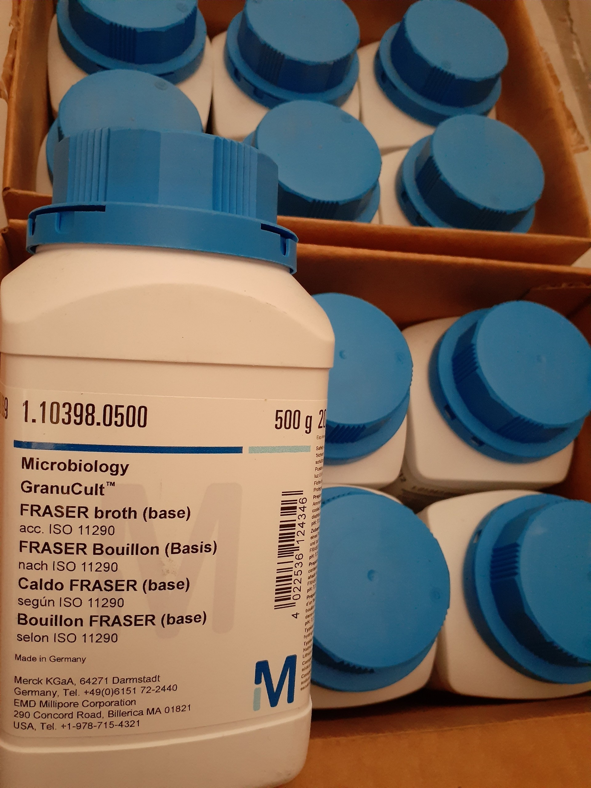 FRASER broth (base) acc. ISO 11290 GranuCult ® (Merck) | 1103980500