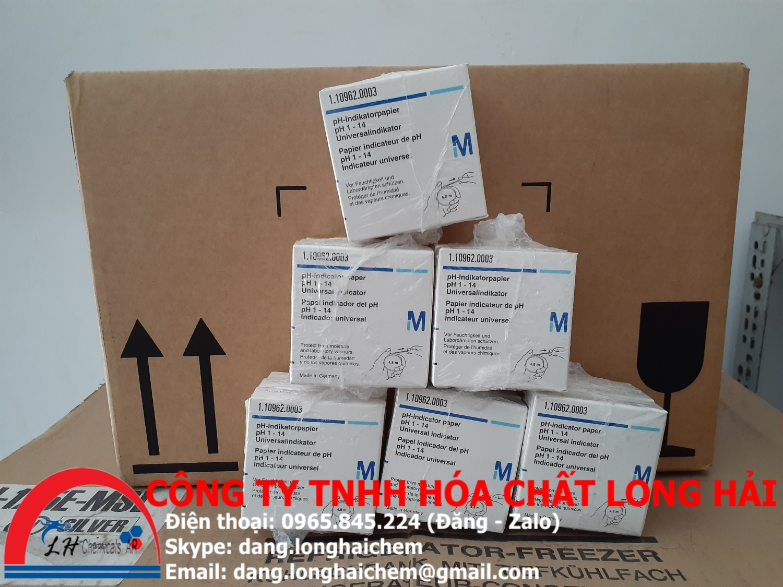 pH-indicator paper pH 1 - 14 Universal indicator (Merck) | 110962