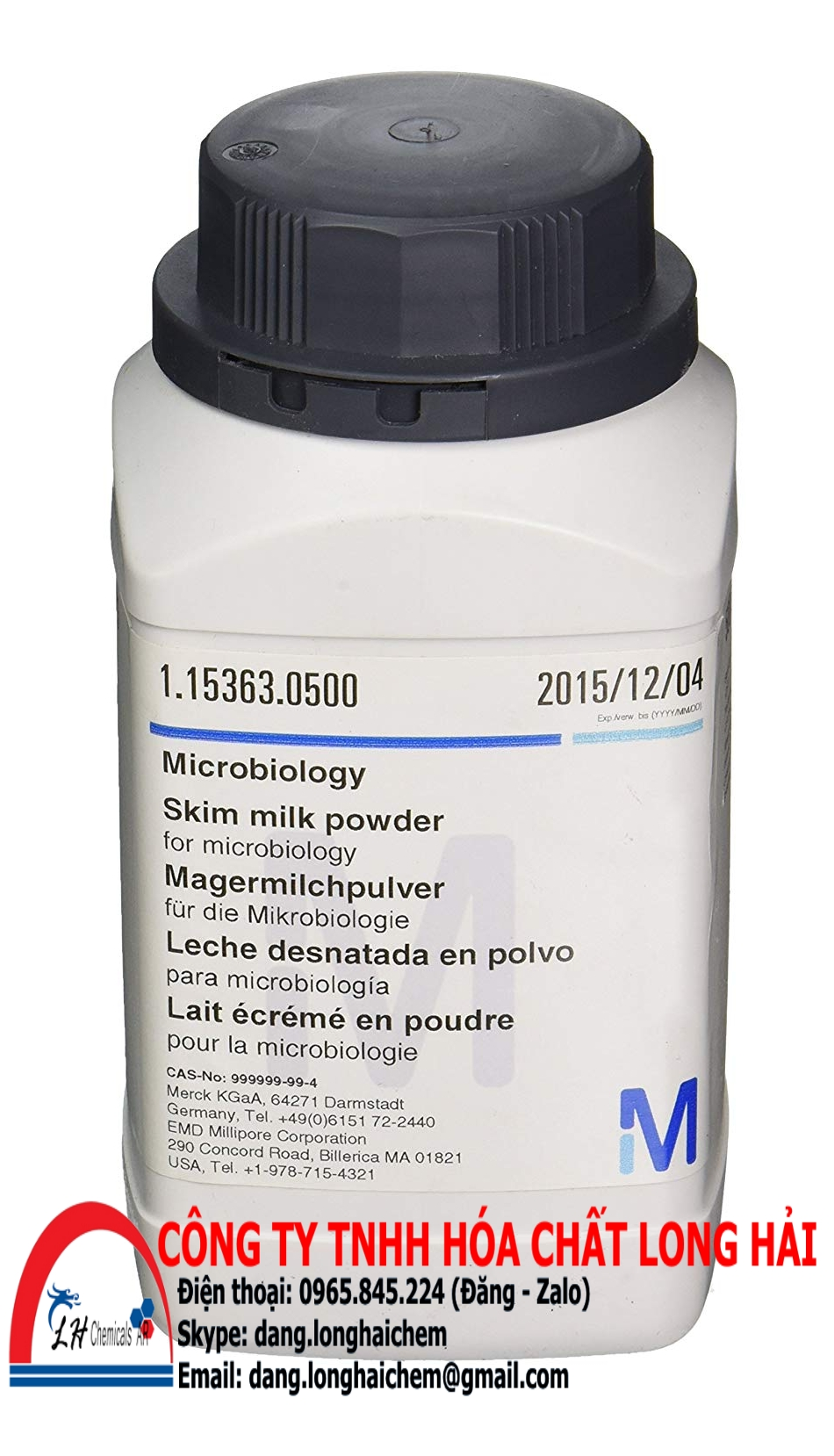Skim milk powder (Merck) | 115363