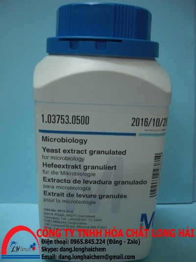 Yeast extract granulated (Merck) | 103753