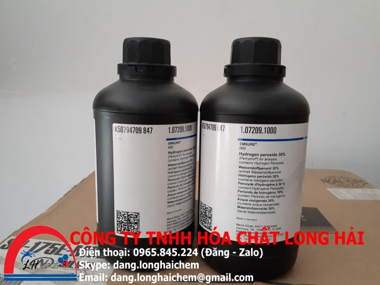 Hydrogen peroxide 30% (Merck) | 107209