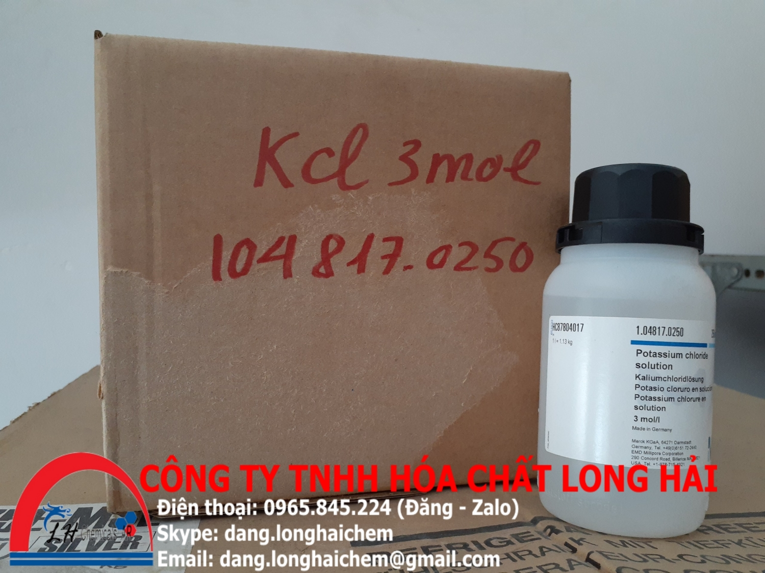 Potassium chloride solution (Merck) | 104817