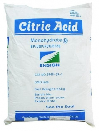 Citric acid monohydrate  Weifang /TCCA