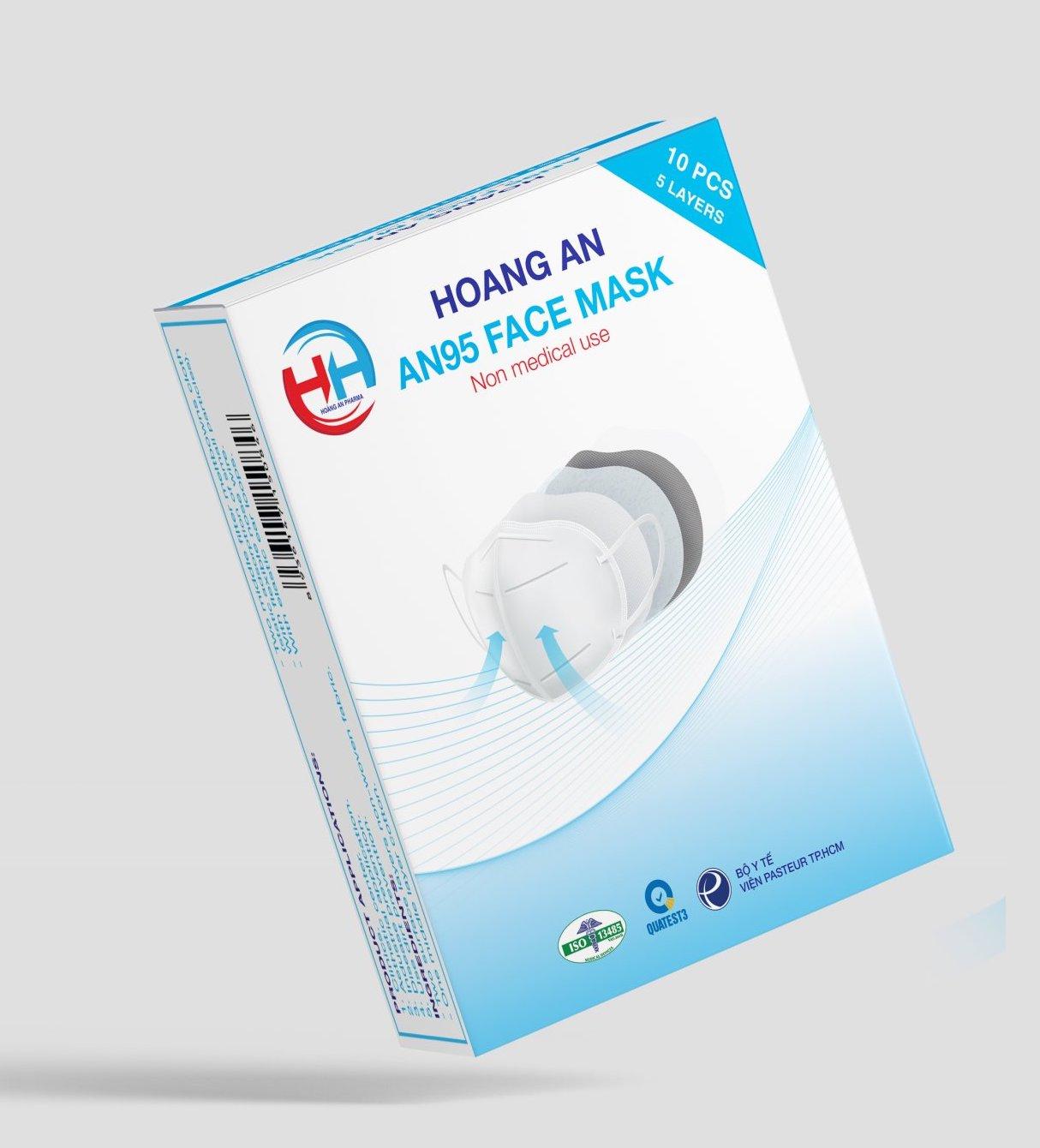 Khẩu trang AN95Hoàng An Pharma