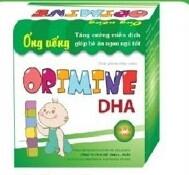 ORIMINE DHA (Hộp 20 ống x 10ml)