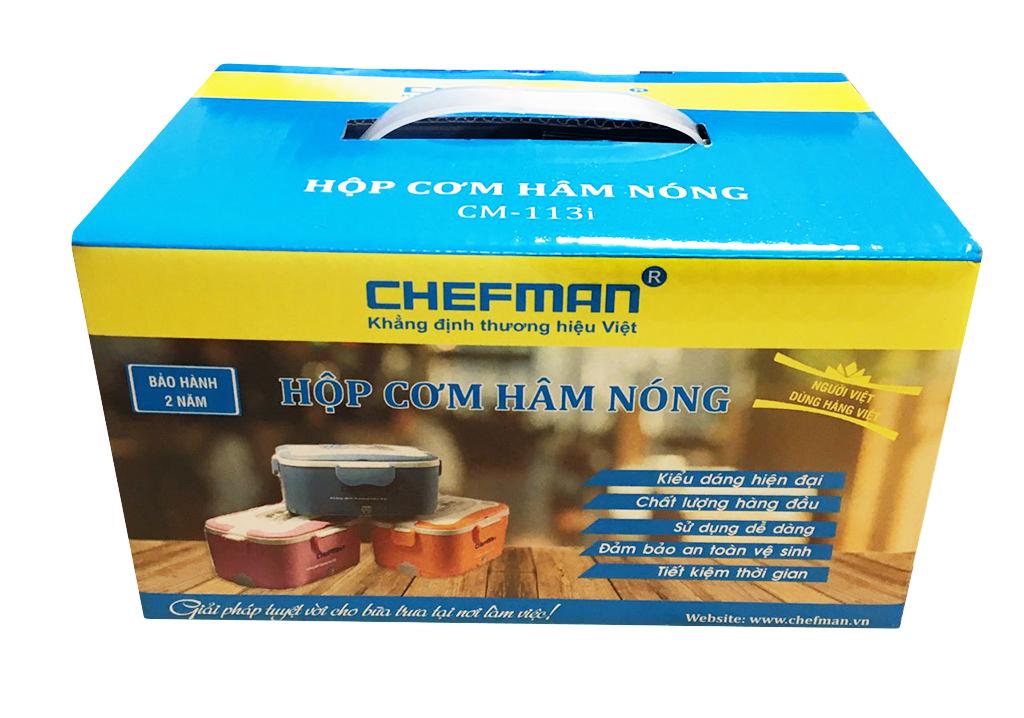 Hộp cơm hâm nóng Chefman CM-113i inox được bán ở đâu Hà Nội   Chefman – Công ty Cổ phần Lộc Đại Quý