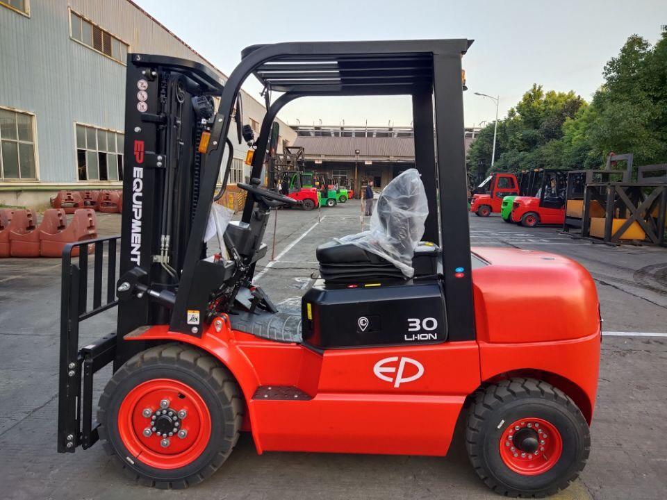 EFL252/EFL302/ EFL352锂电池叉车油改电动叉车