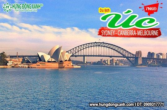 Tour Úc: SYDNEY - CANBERRA-MELBOURNE ( 7N6Đ)