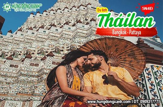 Du lịch Thái Lan Cao Cấp: Bangkok - Pattaya